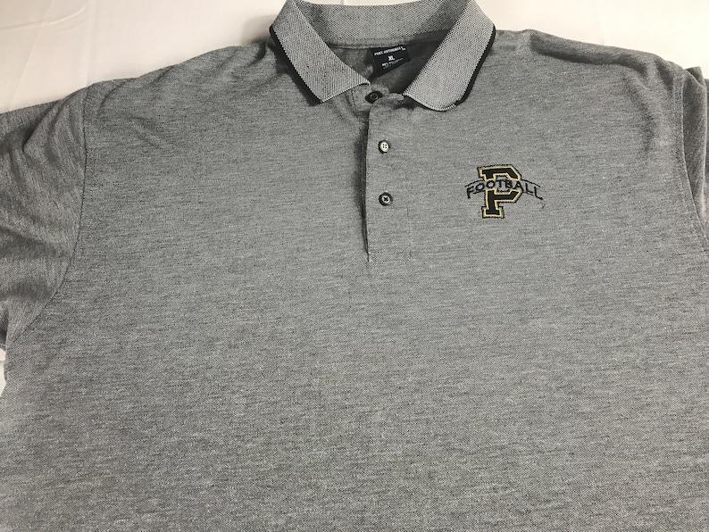 Purdue Football Polo Shirt Mens XL Boilermakers Student Alumni image 0