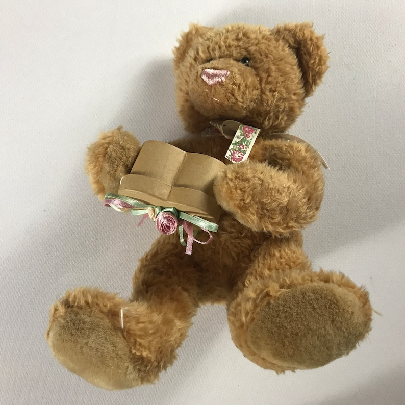 Mary Meyer Plush Bear 1997 Ring Box 11 Stuffed Beans image 0