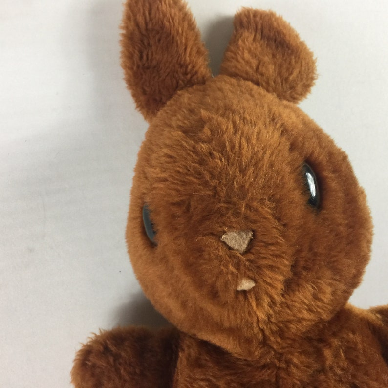 Animal Fair Plush Bunny Stuffed 15 Toy Bell Ears Collectible Old Antique