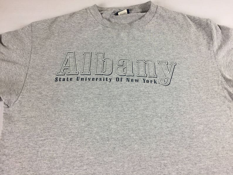 Albany State University T-Shirt Mens Large USA Made New York image 0