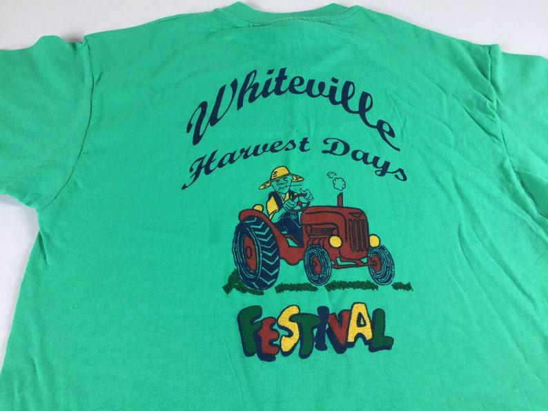 Whiteville North Carolina T-Shirt Adult SZ M/L Harvest Days image 0
