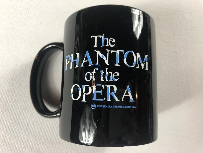 Phantom Of The Opera Coffee Mug 1986 Cup Play Movie Drama image 0