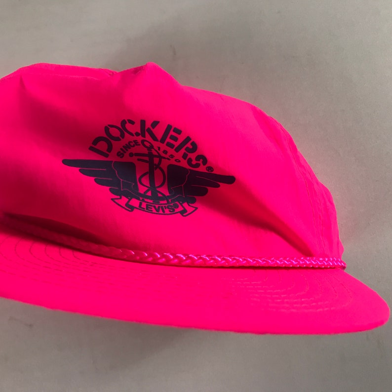 Dockers Levis Hat Cap Hot Pink Lightweight Adult One Size Golf image 0