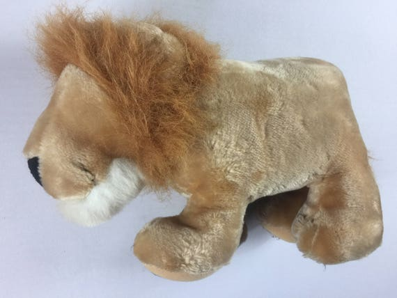 Jeen Lion Plush Purring Cat Stuffed 12 Collectible Toy Etsy