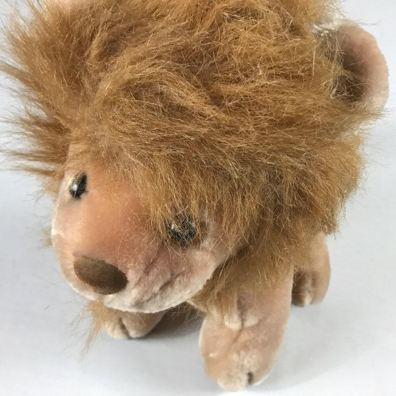 Kelly Trading Plush Lion Stuffed 11 King Of The Jungle image 0