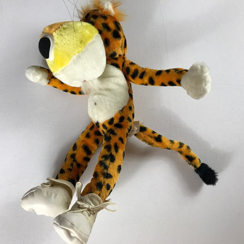 Chester Cheetah Plush 1993 Cheetos Posable Arms Legs Large image 0