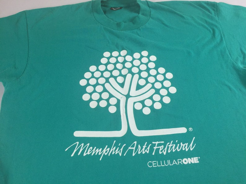 Memphis Arts Festival T-Shirt Adult XL Tennessee USA Made image 0