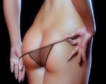 Frontal cotton panties milf
