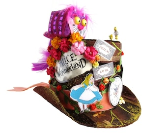 Decorative Top Hat inspired by Mad Hatter's Hat