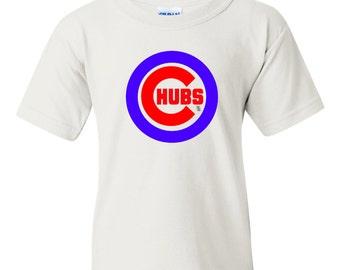 Cubs Acdc Style Kids T Shirt Cubs For Those About To Rock Etsy
