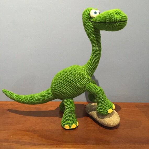 Patrón Dinosaurio Arlo Disney Pixar amigurumi crochet | Etsy
