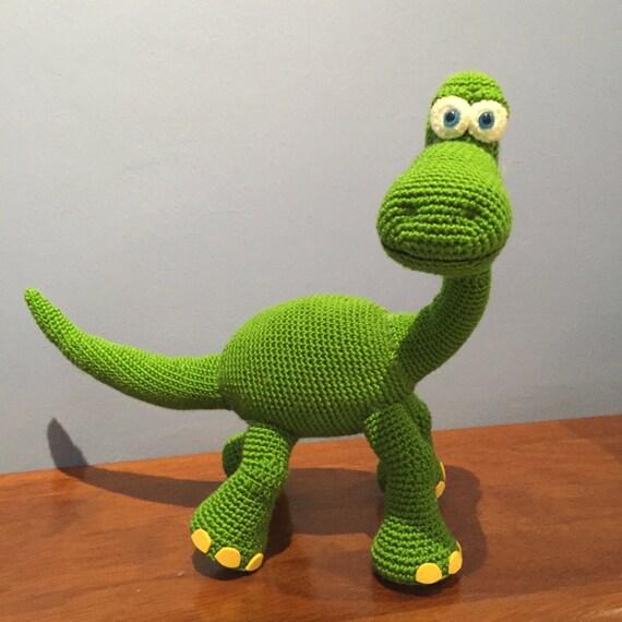 Patrón Dinosaurio Arlo Disney Pixar amigurumi crochet   Etsy