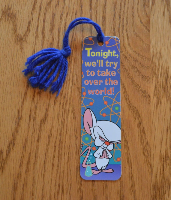 1993 Warner Brothers Animaniacs Book Marks Set of 4