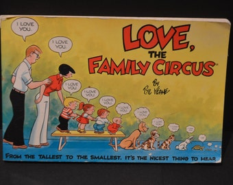 Family Circus Book by Bil Keane - Love, The Family Circus 1983