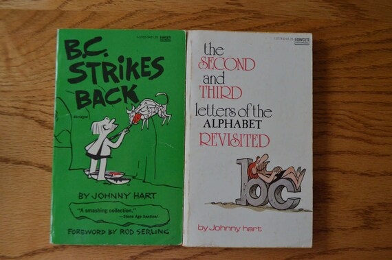 1970s Bc Humor Books By Johnny Hart Etsy