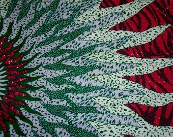 African wax Print Fabric sold by the Yard