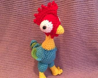 Hei Hei Crochet Plush