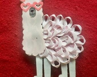 Llama Hair Clip Gifts
