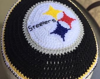 Pittsburgh Steelers Detroit Lions kippah yarmulke nfl football Jewish or YOUR team/school