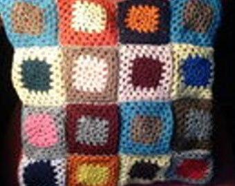 Colorful patchwork Cushion cover
