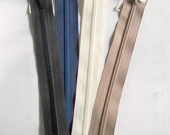 12 Atom Red Coats /& Clark Medium Weight Separating Zipper