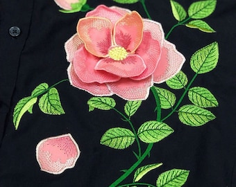 3d Embroidery Etsy