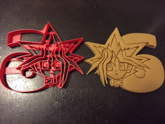 Yu Gi Oh Cookie Cutter Holding The Number 6 Great For Your Kid S Sixth Birthday Party Celebrate Their 6th Year With Custom Yugioh Cookies