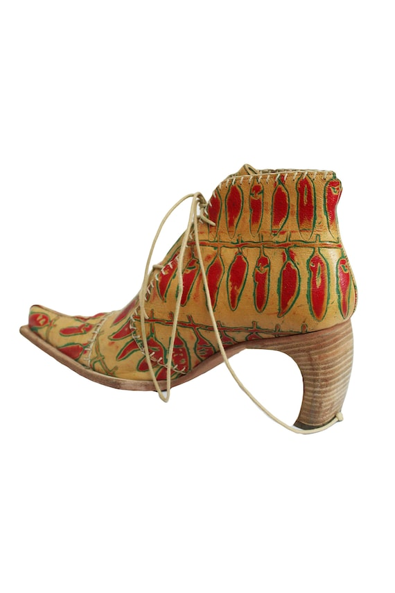 MUXART Barcelona 1990's Leather Ankle Boots
