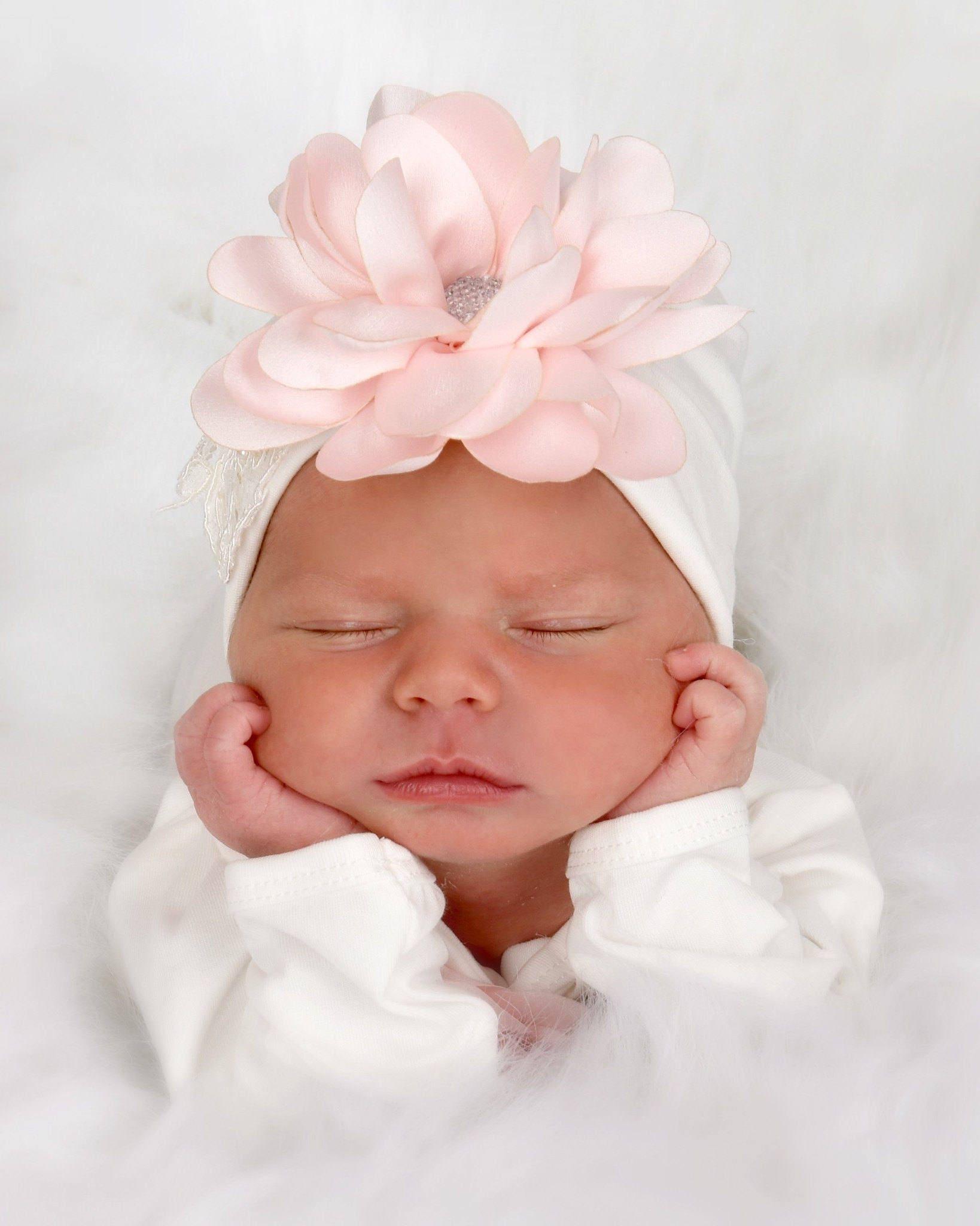 Unique Baby Gift Newborn Girl Hat Baby Hospital Hat Baby