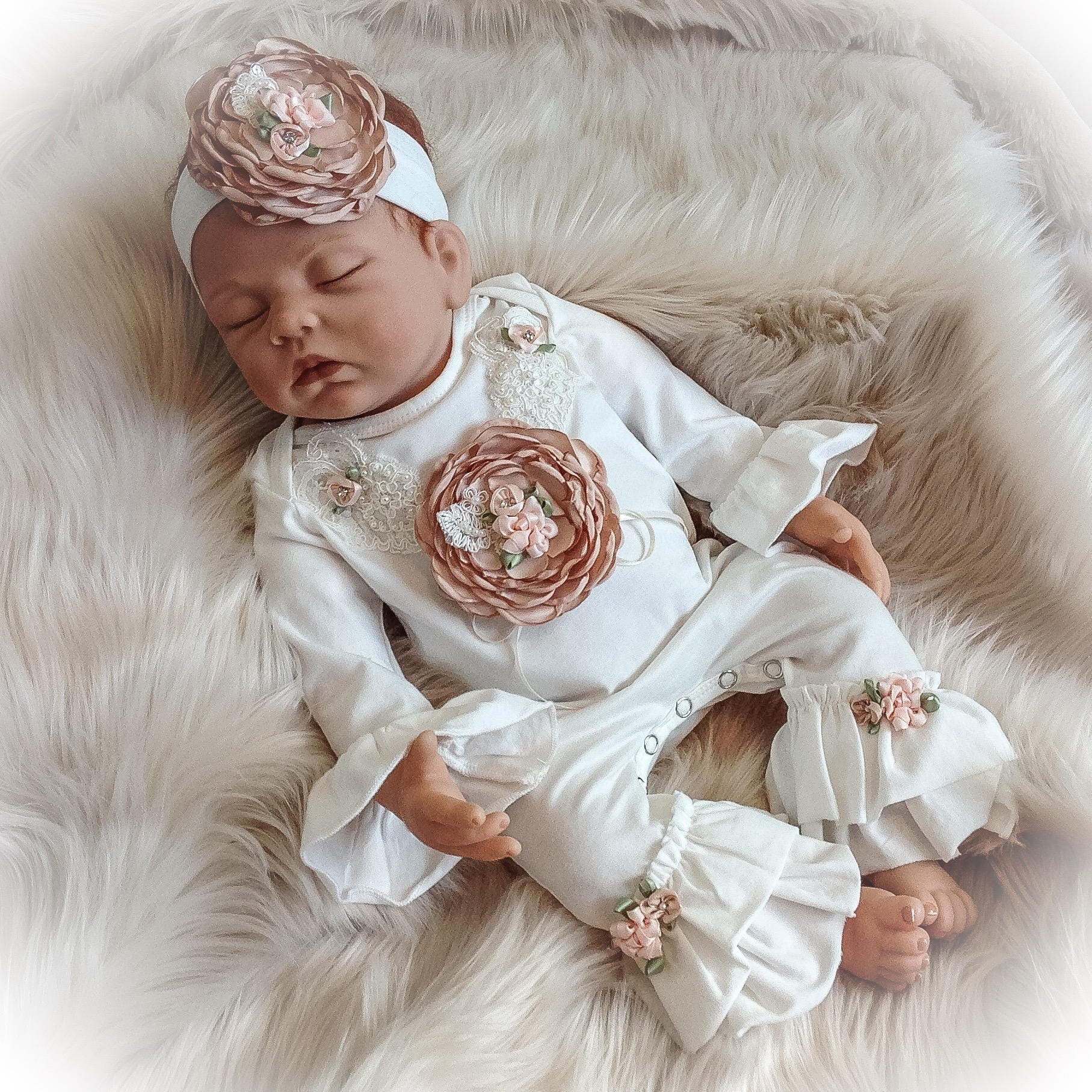 4b8199e31d9 Newborn Girl Coming Home