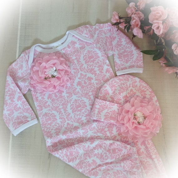 Baby Girl Layette Newborn Girl Layette Gown Baby Girl Coming | Etsy