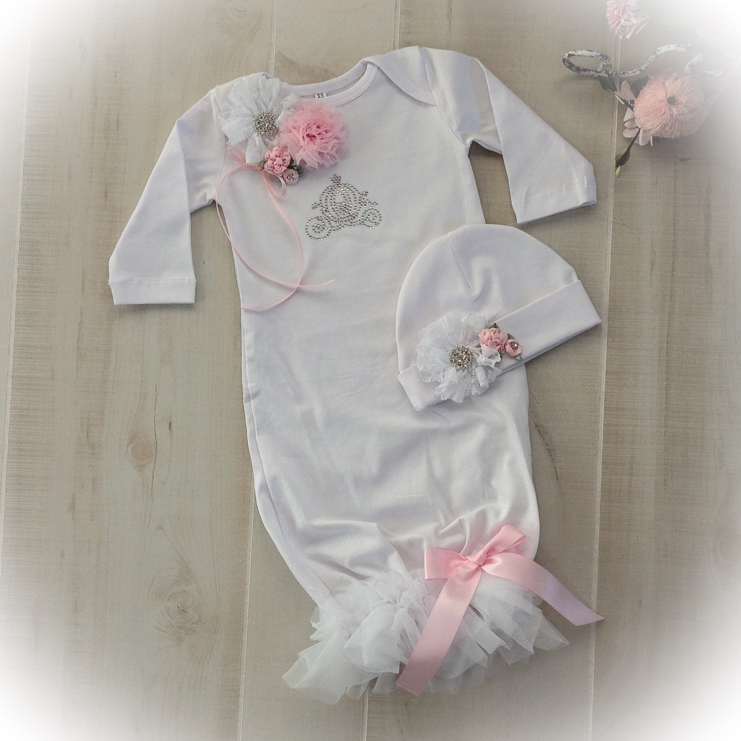 Newborn Girl Take Home Princess Outfit Newborn Girl Coming Home