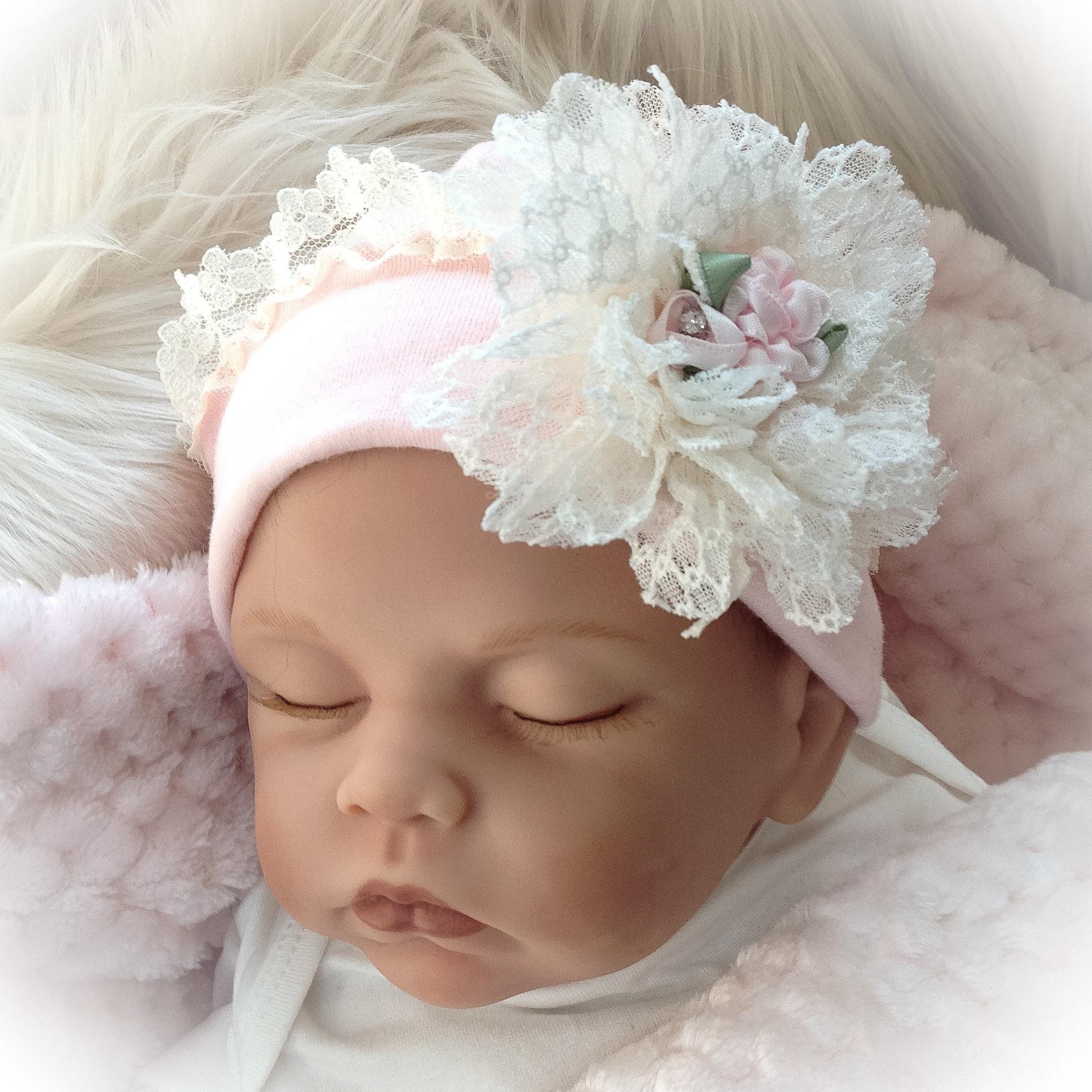 Unique Baby Gift Newborn Girl Hat Baby Hospital Hat Baby ...