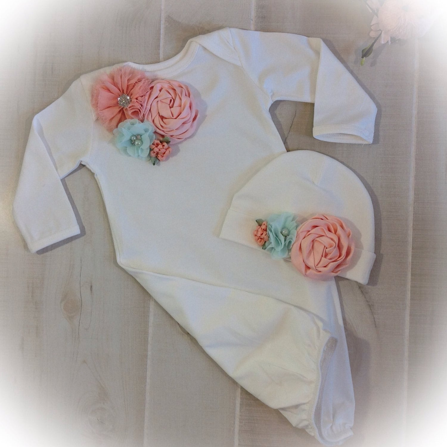 0f858f351692 Newborn Girl Take Home Outfit