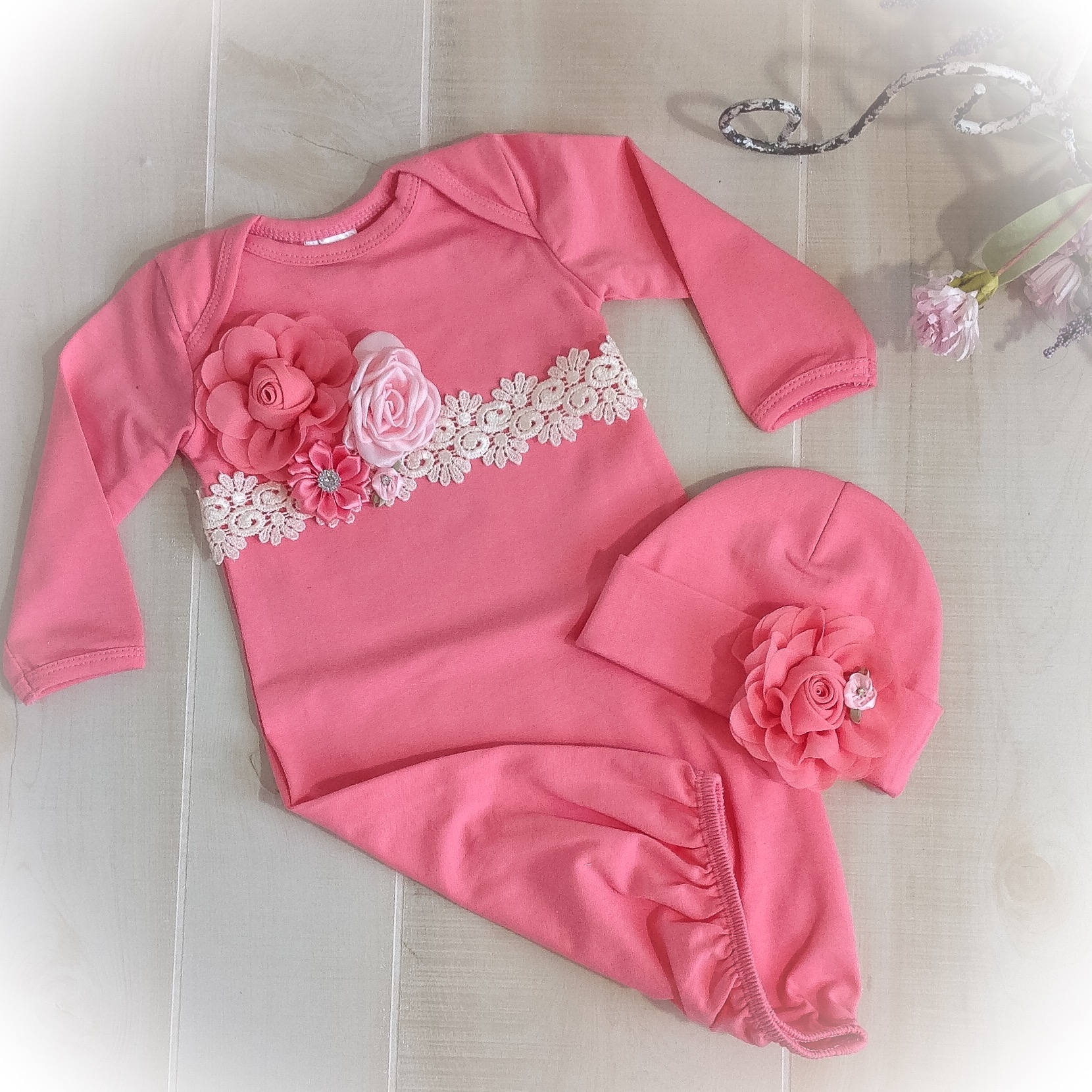 0fafdb90242 Baby Girl Coming Home Outfit