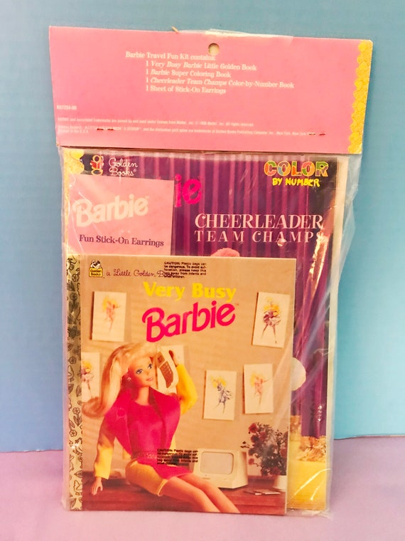 1998 Barbie Travel Fun Kit For Use While You Are Traveling