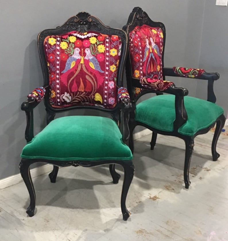 Attrayant Eclectic Boho Chairs