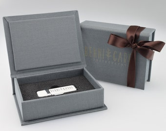 1 Hermes USB 3.0 & Small Elegant Gift Box - Branded with Your Personalised Logo
