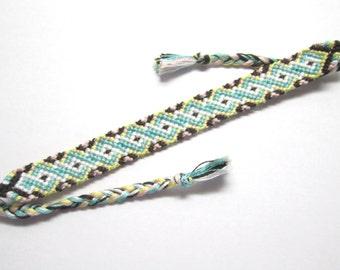 Sweet Twist Colorful Friendship Bracelet