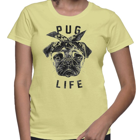 Barro amasado a vida camisa Pug camiseta perro camisa camiseta  011a96dbaa4de