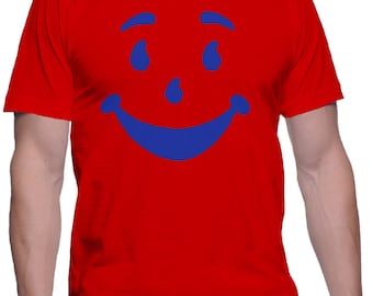 Kool-Aid Man Shirt Koolaid T-Shirt Face Shirts Funny T-Shirts 90s Shirts Nineties T-Shirt Funny Gifts Gag Gifts Birthday Present Ohh Yeahh