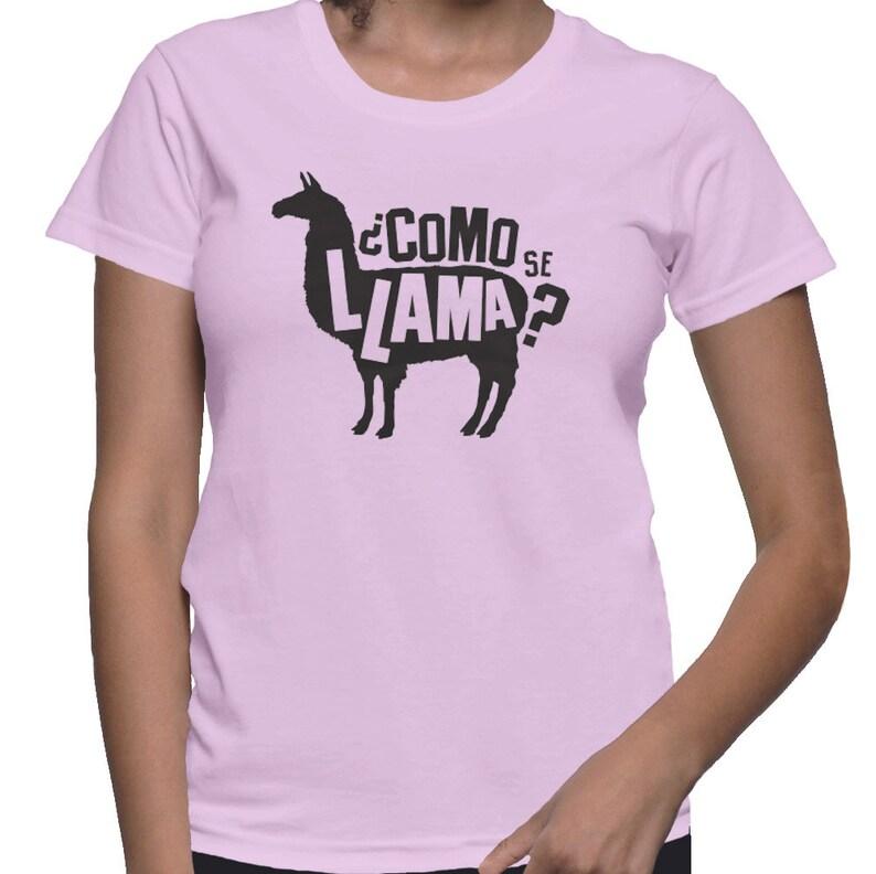 c0a887a5 Como Se Llama Shirt Funny School Shirts Funny Spanish Shirt | Etsy