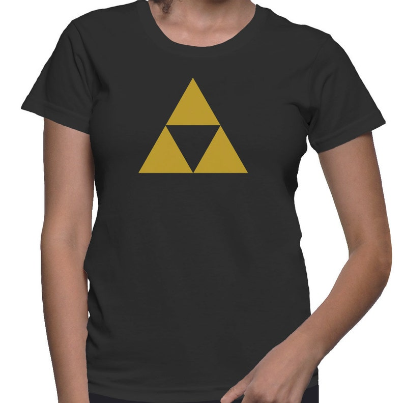fb3d26eb4 The Legend of Zelda Shirt Triforce Shirt Gamer T-Shirt Gaming | Etsy