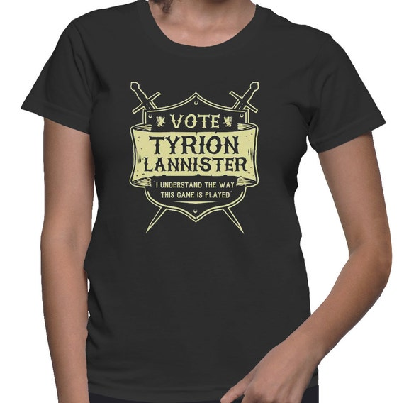 Game of ThronesVote Tyrion Lannister T-Shirt Ladies