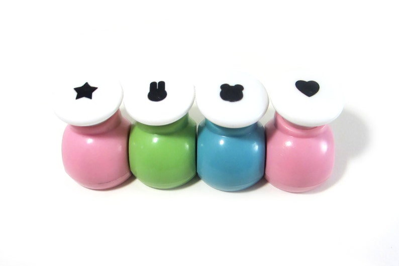Kawaii Stamp Punch For Dried Soy Seaweed Heart Star Bunny Etsy
