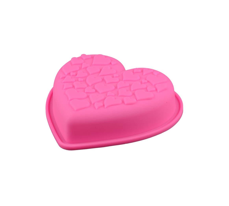 Mini Heart Silicone Cake Mold Small Reusable Baking Cake Etsy