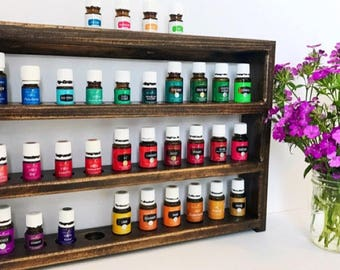 Essential Oils Shelf