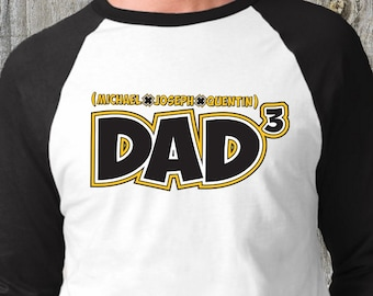 Father's Day Shirt, Dad Shirt, Dad Cubed T-Shirt (1048)