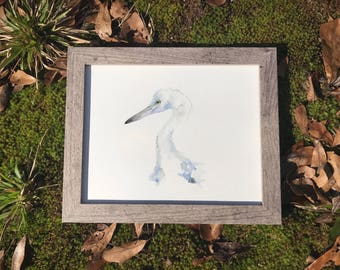 Little Blue Heron - Original Art