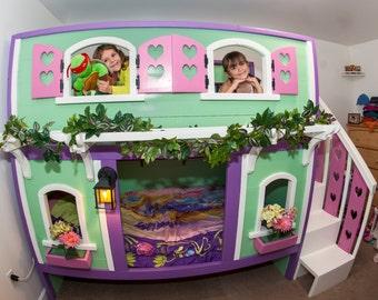 Playhouse Bunk Bed